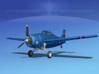 Grumman F4F-3 Widlcat V01