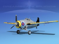 Grumman F4F-3 Widlcat V02