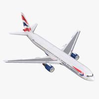 Boeing 767-300 British Airways Rigged