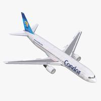 Boeing 767-300 Condor Flugdienst Rigged