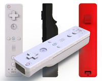 Nintendo Wii Remote (3 Official Colors Edit)