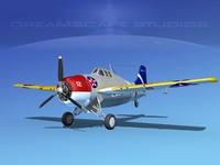 Grumman F4F-3 Widlcat V07
