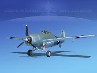Grumman F4F-3 Widlcat V09