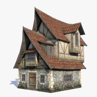 Fantasy House 07 LOD (2 in1)