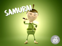 Samurai Cartoon