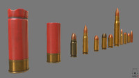 munition shell pbr obj free