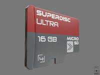 Micro SD Card PBR