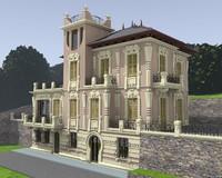 building 1900s 3ds