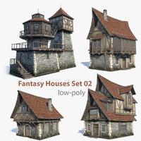 Fantasy Houses Set 02