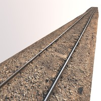 scan rails 3d model