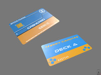 Credit Card Key PBR Sci-Fi