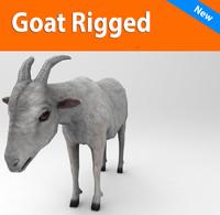 obj goat rigged :