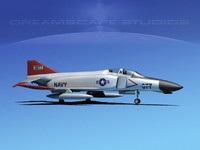 mcdonnell douglas f-4 phantom 3ds