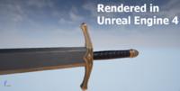 3d model sword games