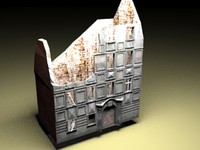 3d model building ww2