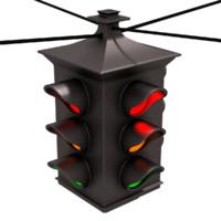 Hanging Traffic Light