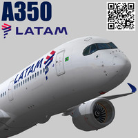 3d model games latam airlines