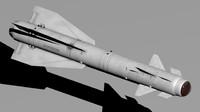 russian kh-29t 3d model