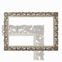 3d mirror frame model