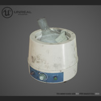 3d model heating mantle