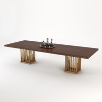 dining table dolce christopher 3ds