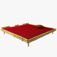 thai massage bed 3d 3ds