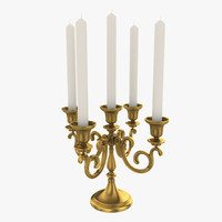 Candelabrum With Five Candles