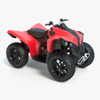 4 wheeler 3d model