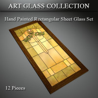 art glass 3d model