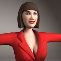 3d 3ds woman girl female