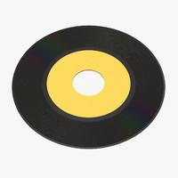vinyl lp 02 3d max