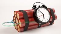 c4d dynamite clock