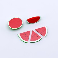 cartoon low poly watermelons