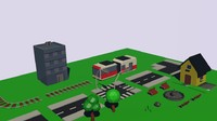 Simple Universe: City Streets