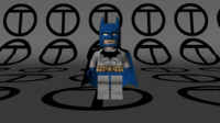 Lego Batman Classic Comic Suit