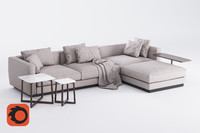 Flexform Pleasure Sofa