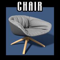 chair interiors 3d model