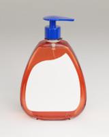 3d label liquid soap model