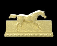 Galloping Horse in reliefs 1