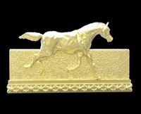 Galloping Horse in reliefs 4