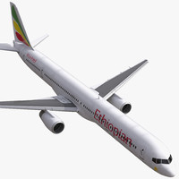 Boeing 757-300 Ethiopian Airlines Rigged