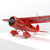 Amelia Earhart's Vega 5B