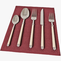 3d cutlery marbella model