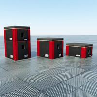 3d ucs plyo boxes