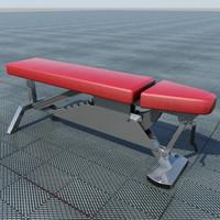 3d max power lifting bench
