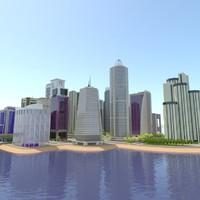 definition city 3d model