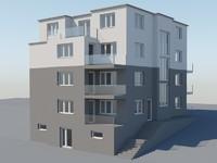 3d model ap house