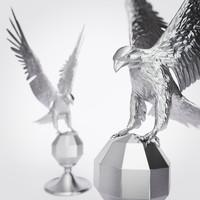 3d eagle statuette