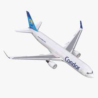 Boeing 767-300F Condor Flugdienst Rigged