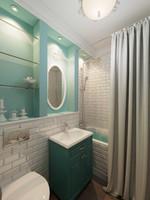 classical washroom 8 3d model